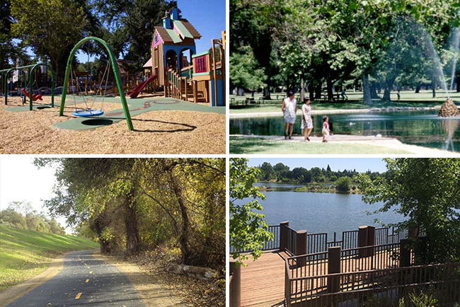 Parks and Hiking Trails in Sacramento
