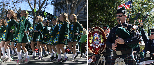 St. Patrick's Day Parade in Sacramento
