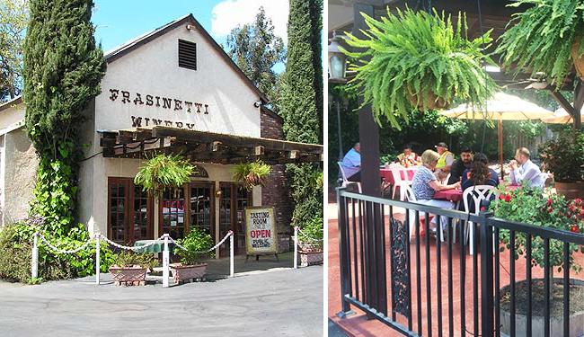 Frasinetti Winery Sacramento