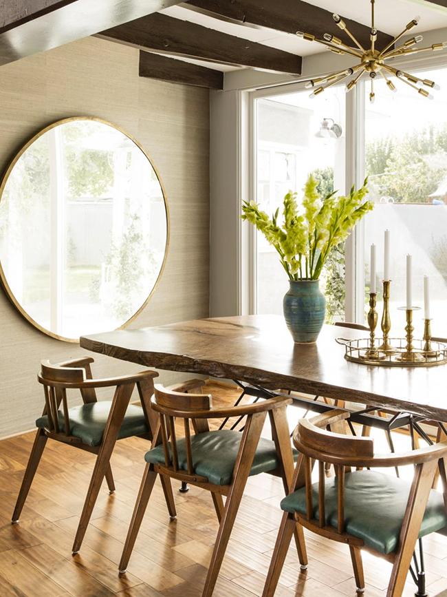 Mid-Century Inspired Dining Room