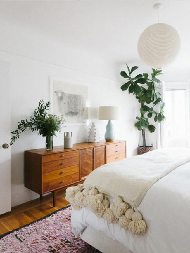 Mid-Century Styled Bedroom