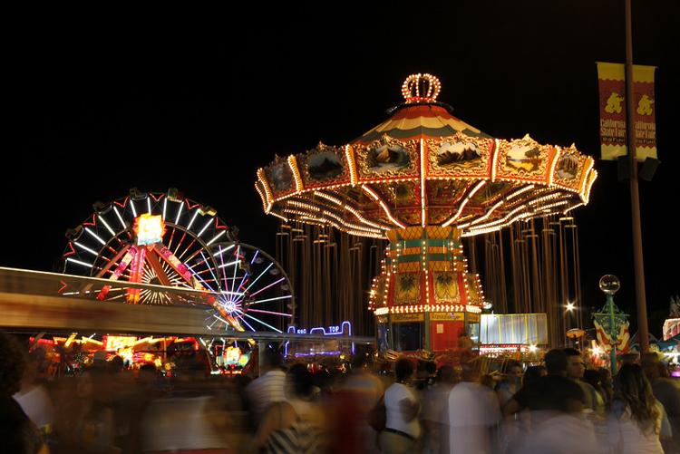 California State Fair Rides