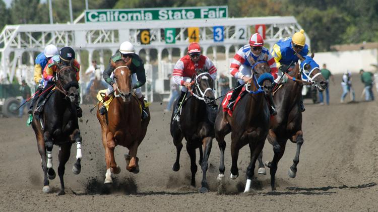 California State Fair Horse Racing