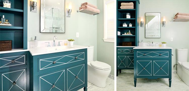 Update a bathroom vanity