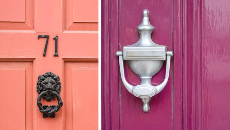 Front door knockers