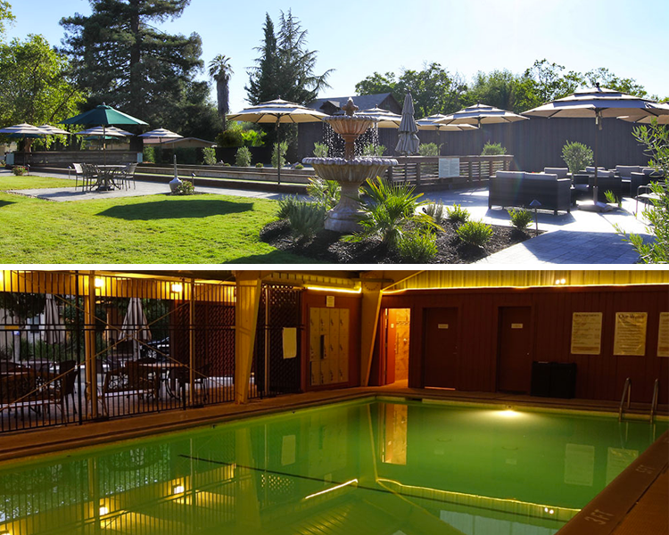 Golden Haven Hot Springs Spa in Calistoga, CA