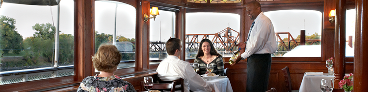 Pilothouse Restaurant on the Delta King