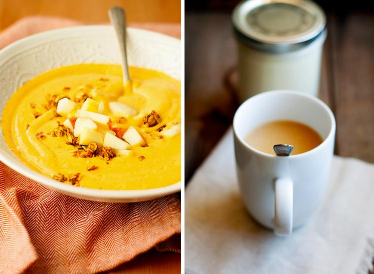 Well Floured Pumpkin Apple Smoothie and Pumpkin Spice Coffee Creamer