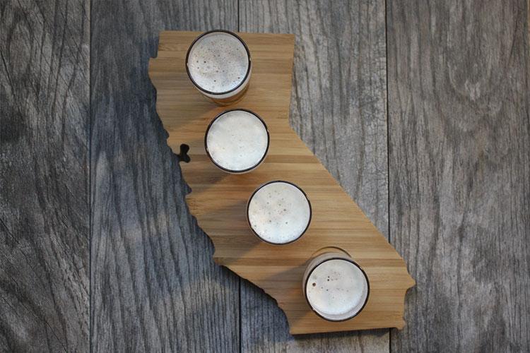 California Beer Flight | Gift Ideas for Him