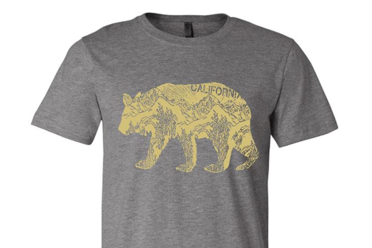California Bear T-Shirt | Gift Ideas for Him