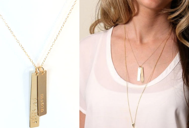 Personalized Gold Necklace | Gift Ideas for Her