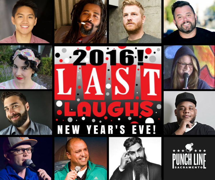 Last Laughs New Year's Eve Punch Line Comedy Club