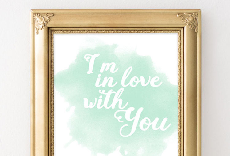 Love Print | Gift Ideas for Her
