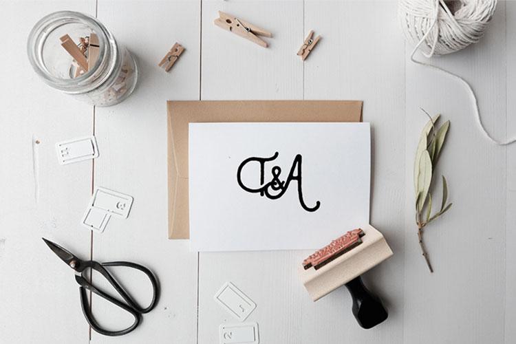 Custom Monogram Stamp | Gift Ideas for Her