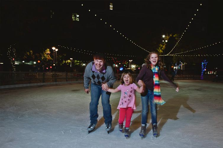 Ice Skating in Sacramento