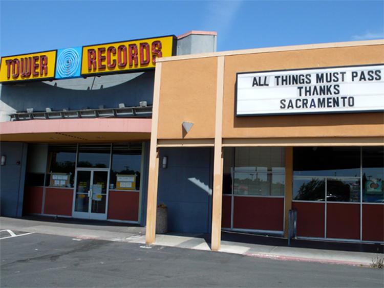 Tower Records Sacramento, CA