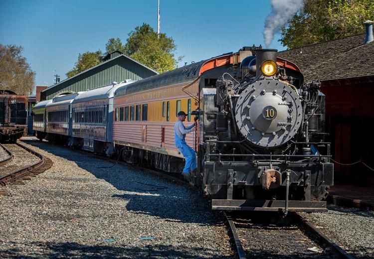 California State Railroad Museum Sacramento, CA