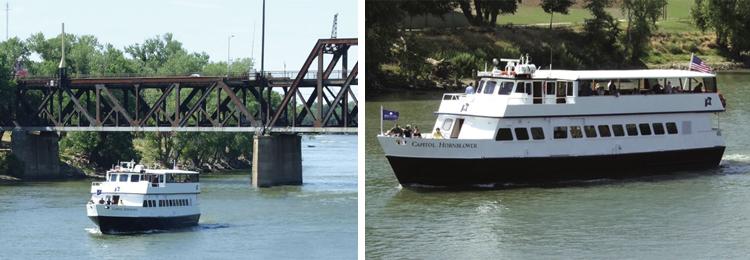 Capitol Hornblower Old Sacramento River Cruise