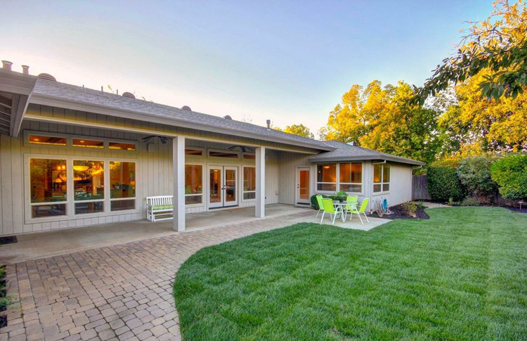 Sacramento Home With a Collection of Fruit Trees