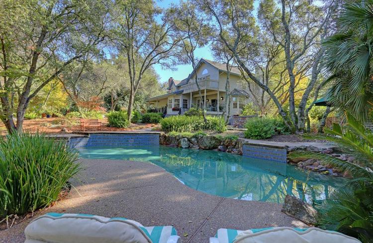 Granite Bay Home With Zen Garden