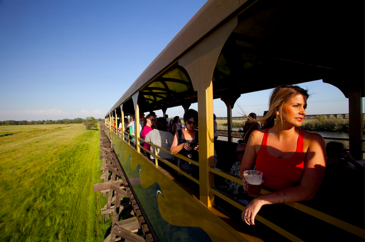 Sacramento RiverTrain Beer Train