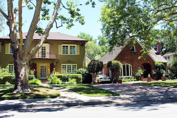 Homes in East Sacramento