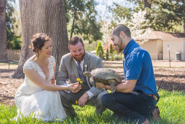 Sacramento Zoo Wedding
