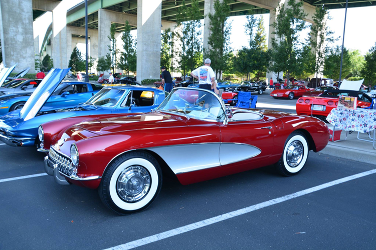 California Automobile Museum Vettes for Vets