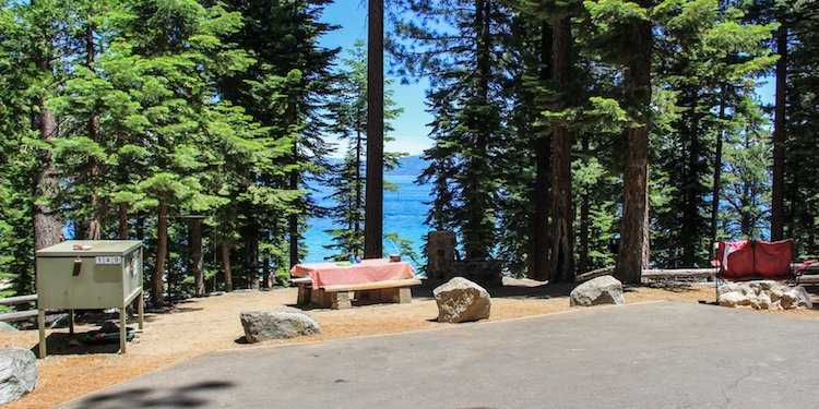 D.L. Bliss State Park Campground