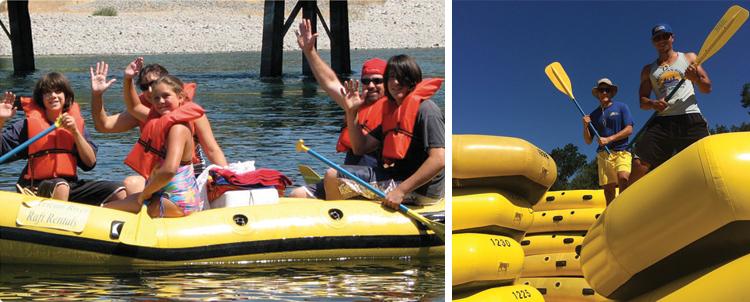 American River Raft Rentals Rancho Cordova, CA