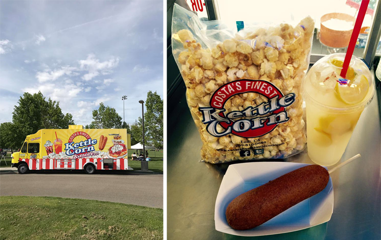 Costa's Finest Kettle Corn Food Truck Sacramento, CA