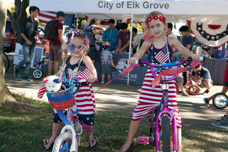 Salute to the Red, White and Blue City of Elk Grove