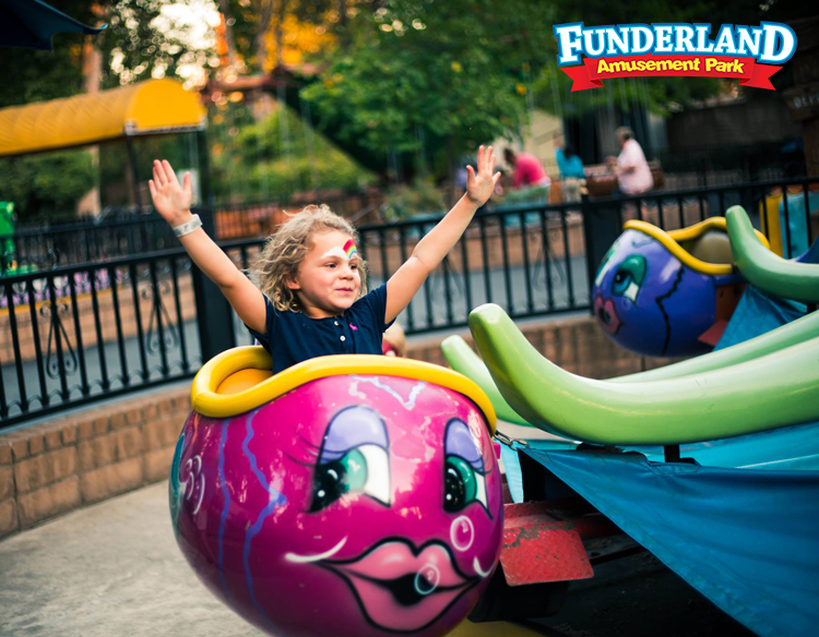 Funderland Sacramento Things to do with the kids
