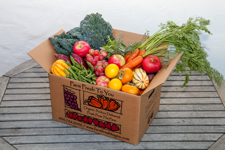 Farm Fresh to You Donate-a-Box Program