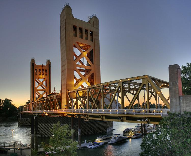 Tower Bridge Sacramento, CA