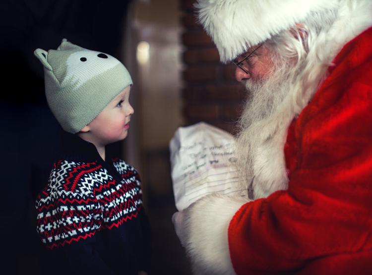 Santa in Sacramento