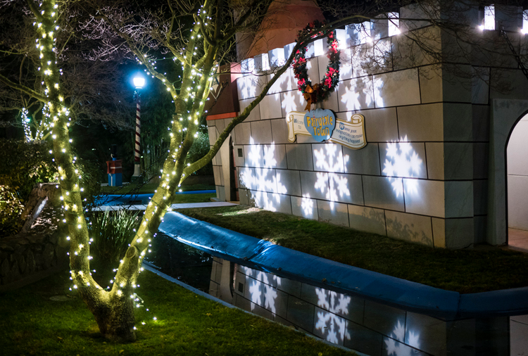 Winter Wonderland at Fairytale Town Sacramento