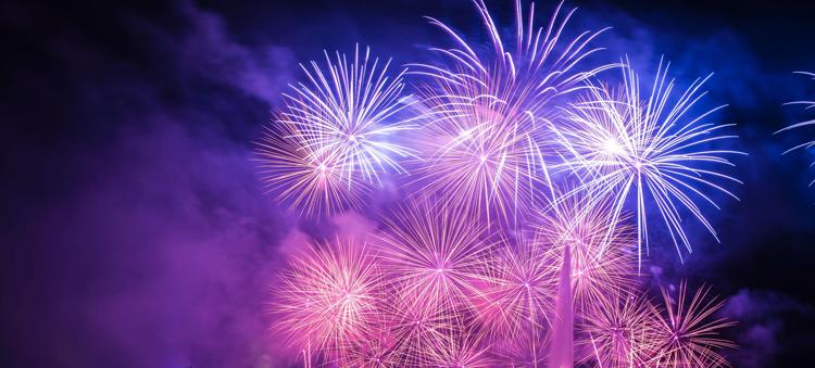 New Year's Sky Spectacular Fireworks Sacramento, CA