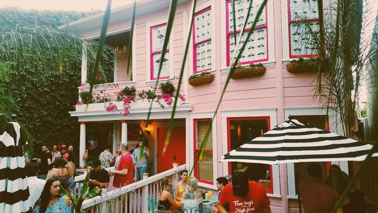 The Flamingo House Social Club Sacramento, CA