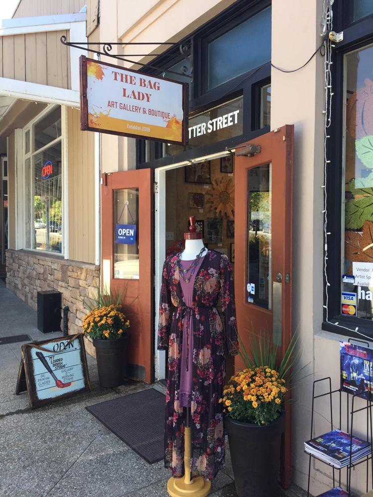 The Bag Lady Sacramento Area boutique fashion shops shopping