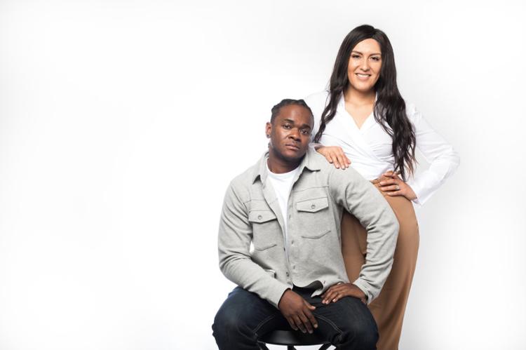 Maritza and Roshaun Davis
