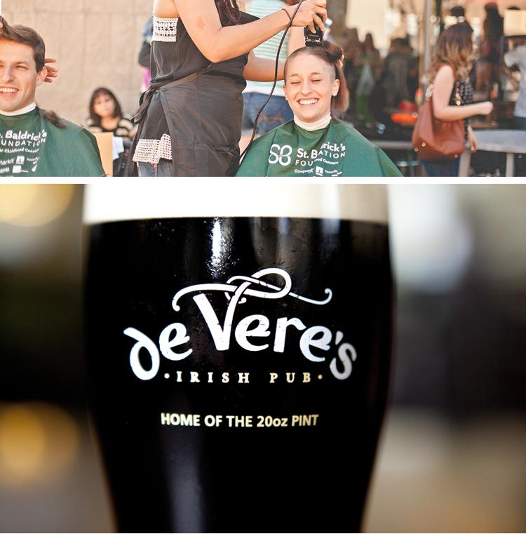 St. Baldrick's Day de Vere's Irish Pub Sacramento, CA