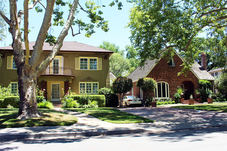 Homes in East Sacramento