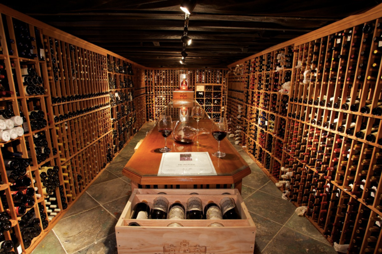 The Firehouse Restaurant Wine Cellar Sacramento