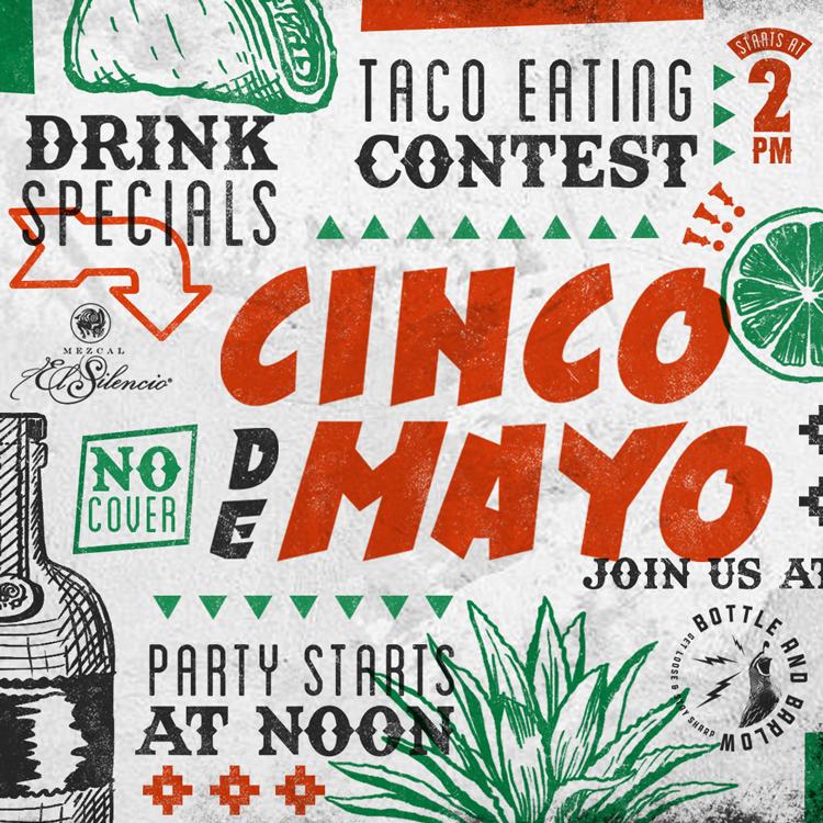 Cinco de Mayo at Bottle and Barlow, Sacramento