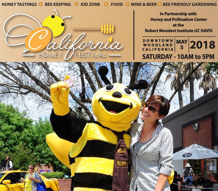 California Honey Festival in Woodland, CA