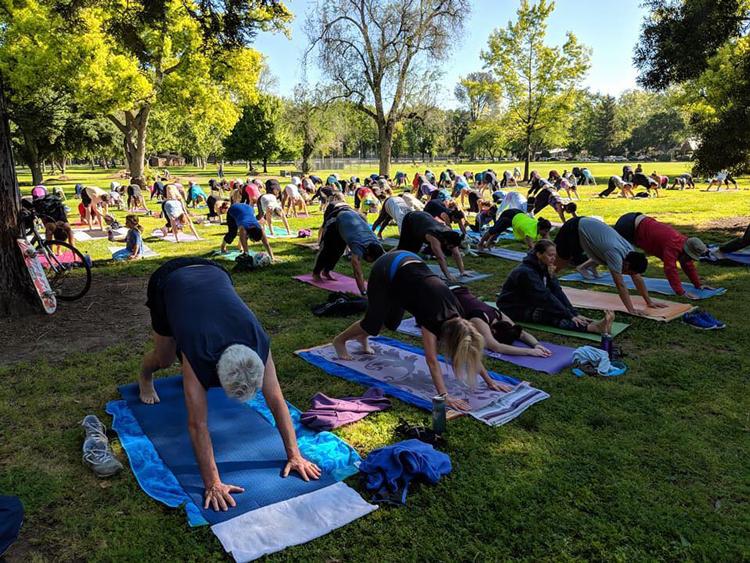 Yoga in the Park at McKinley Park Sacramento