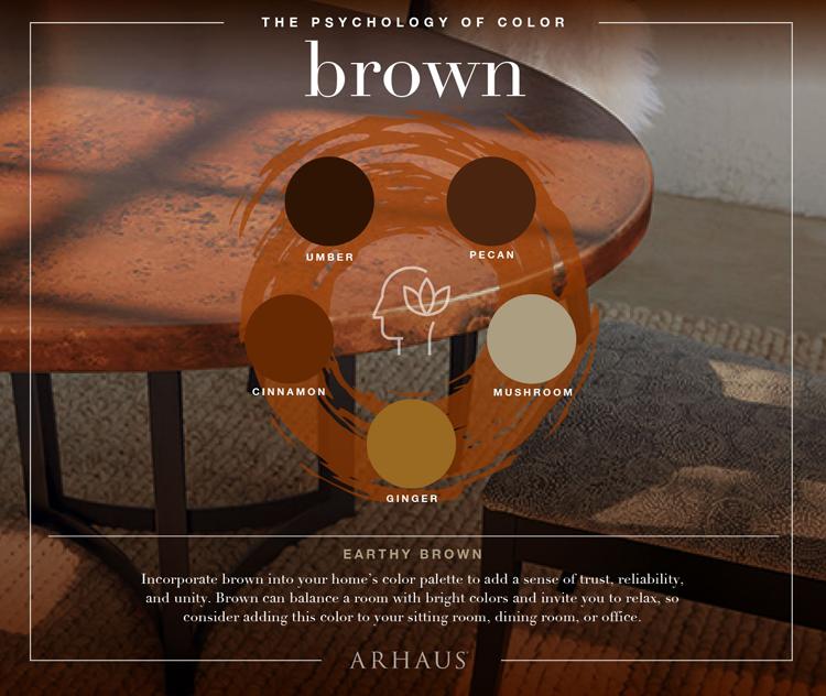 Color Psychology: Brown