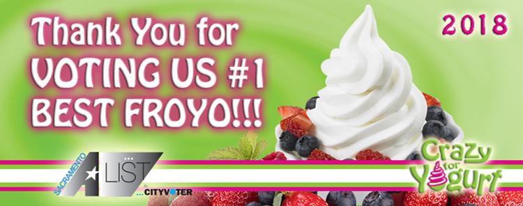 Crazy for Yogurt Carmichael, CA