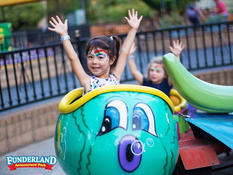 Funderland Amusement Park Sacramento